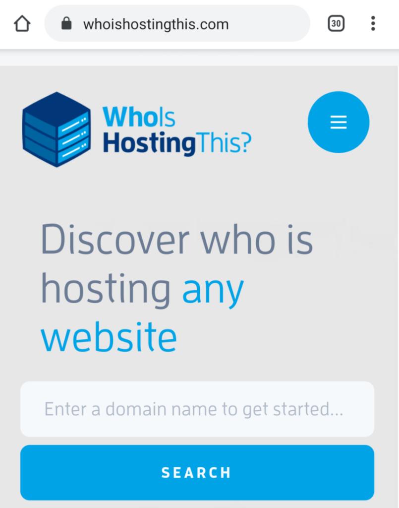 WhoIsHostingThis.com